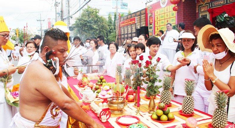 Vegetarian festival Phuket