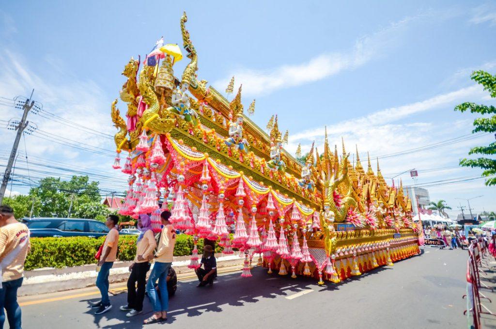 Rocket festival Thailand
